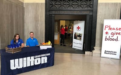 Be a Lifesaver! Wilton Construction Partners with the American Red Cross for their Be a Lifesaver Blood Drive